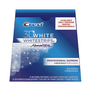 Teeth Whitening Crest 3d White Whitestrips Professional Supreme