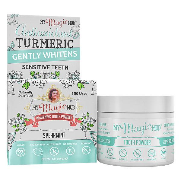 Teeth Whitening My Magic Mud Turmeric Whitening Tooth